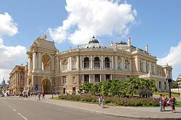 Opera and ballet theater, Odessa, Ukraine, Europe