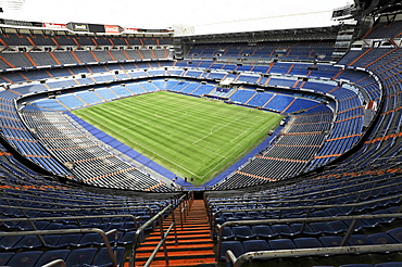 Estadio Santiago Bernabeu soccer stadium of the Spanish football club Real Madrid, 80, 354 seats, Madrid, Spain, Europe