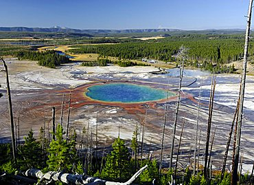 Grand Prismatic Spring, Yellowstone National Park, Wyoming, United States of America
