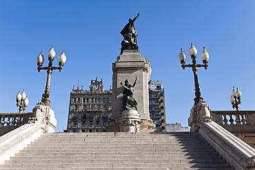 Monumento a los dos Congresos, Plaza del Congreso, Buenos Aires, Argentina, South America