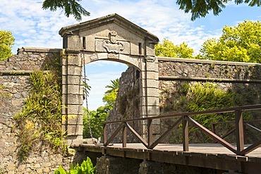 Main entrance to the historic district, Colonia del Sacramento, Unesco World Heritage site, Uruguay, South America