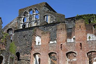 Ruins of the Cistercian Villers Abbey, Villers-la-Ville, Brabant province, Wallonia, Belgium, Europe