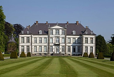 Chateau d'Attre, Brugelette, province of Hainaut, Wallonia, Belgium, Europe
