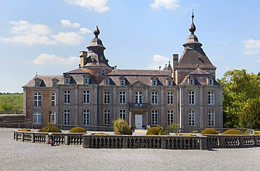 Chateau de Modave palace, Modave, province of Liege, Belgium, Europe