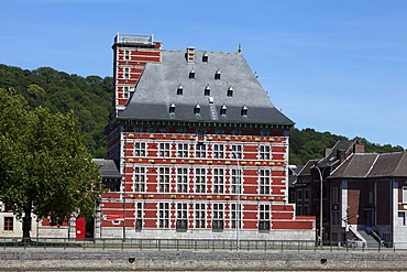 Le Grand Curtius, Musee Curtius or Curtius Museum on the Meuse, Liege, Wallonia or Walloon Region, Belgium, Europe