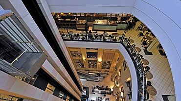 Atrium over 6 floors of the KaDeWe department store, Kaufhaus des Westens, Berlin, Germany, Europe
