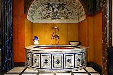 Roman bath, Ernst Fuchs Museum, former mansion of architect Otto Wagner, Vienna, Austria, Europe