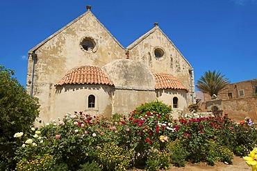 Moni Arkadi monastery, Crete, Greece, Europe
