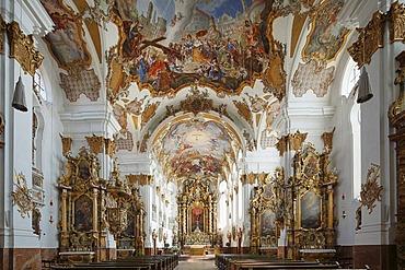 Holy Cross Church, Landsberg am Lech, Upper Bavaria, Bavaria, Germany, Europe