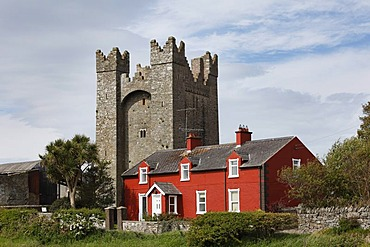 Kilclief Castle, County Down, Northern Ireland, Ireland, United Kingdom, Europe, PublicGround