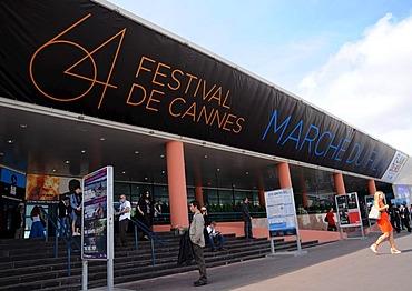 Exhibition centre, International Film Festival, Cannes, Cote d'Azur, France, Europe