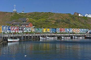Port of Helgoland island, Schleswig-Holstein, Germany, Europe