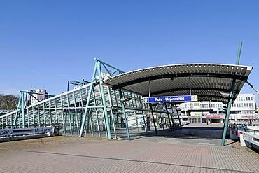 Subway station, Ruhr-Universitaet university, Bochum, Ruhrgebiet area, North Rhine-Westphalia, Germany, Europe