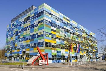 BMZ or BioMedizinZentrum or BioMedicineCentre, Ruhr-Universitaet university, Bochum, Ruhrgebiet area, North Rhine-Westphalia, Germany, Europe