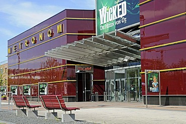 Metronom, musical theater, shopping center, Centro, Neue Mitte district, Oberhausen, Ruhrgebiet area, North Rhine-Westphalia, Germany, Europe
