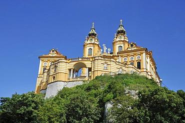Melk Abbey or Stift Melk, UNESCO World Heritage Site, Lower Austria, Austria, Europe