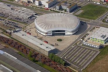 Iss Dome, exhibition hall, Duesseldorf, Rhineland, North Rhine-Westphalia, Germany, Europe