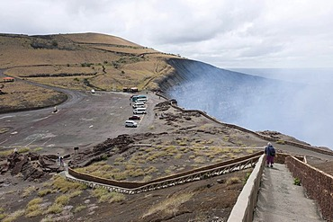 Masaya Volcano, still active, Masaya Volcano National Park, Nicaragua, Central America
