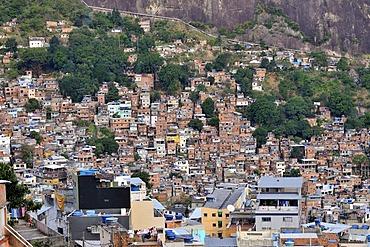 Favela, slums, Rocinha, Rio de Janeiro, Brazil, South America