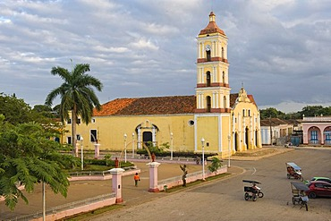 San Juan Bautista or Parochial Mayor Church, Remedios, Santa Clara Province, Cuba, Central America