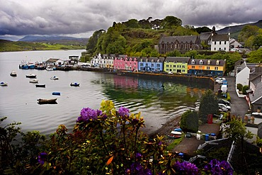 Promenade in Portree, Isle of Skye, Scotland, United Kingdom, Europe, PublicGround