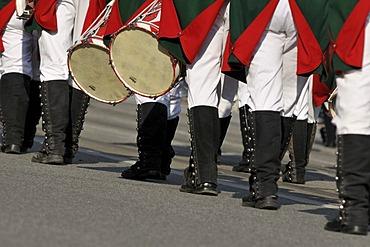 Margrave Hunters of Feuchtwangen 1967 e. V., Schuetzen- und Trachtenzug, Costume and Riflemen's Parade, for the opening of Oktoberfest 2010, Oktoberfest, Munich, Upper Bavaria, Bavaria, Germany, Europe