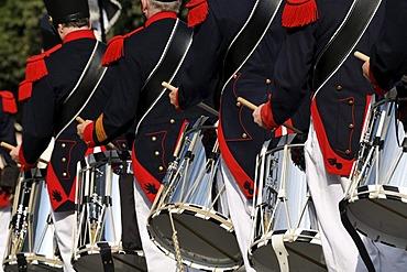 Basel Wednesday Society, Switzerland, Schuetzen- und Trachtenzug, Costume and Riflemen's Parade, for the opening of Oktoberfest 2010, Oktoberfest, Munich, Upper Bavaria, Bavaria, Germany, Europe