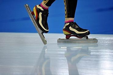 Detail, Essent ISU World Speedskating Championships 2011, Inzell Skating Stadium, Upper Bavaria, Germany, Europe
