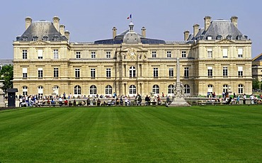 Luxembourg Palace, Luxembourg Garden, Paris, France, Europe