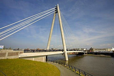 Southport Marine Way Bridge, Merseyside, England, United Kingdom, Europe