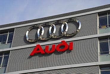 Audi factory, Ingolstadt, Bavaria, Germany, Europe