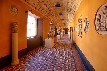Marble sculptures, Thorvaldsen Museum, Copenhagen, Denmark, Europe