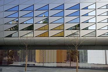 4th extension of the Deutsche Buecherei, German National Library, Leipzig, Saxony, Germany, Europe