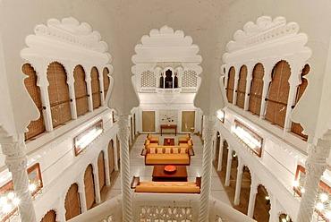 Devigarh Palace Hotel near Udaipur, Rajasthan, India, Asia
