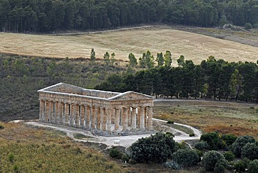 Temple of Segesta, Sicily, southern Italy, Italy, Europe