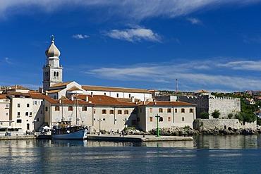 Town of Krk, Krk island, Kvarner Gulf, Croatia, Europe