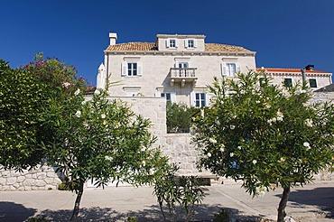 Captain's House, Orebic, Peljesac Peninsula, Dalmatia, Croatia, Europe