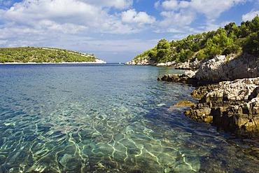 Coast, Vira, island of Hvar, Dalmatia, Croatia, Europe