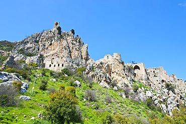 Crusader castle of St. Hilarion, Turkish part of Cyprus