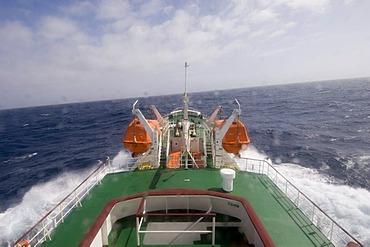 Antactic Dream navigation on rough seas near Cape Horn, Tierra del Fuego, Drake Passage, Antarctic Ocean, Patagonia, Chile, South America