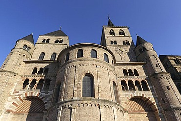 Trier Cathedral, the oldest Episcopal church in Germany, Trier, Rhineland-Palatinate, Germany, Europe