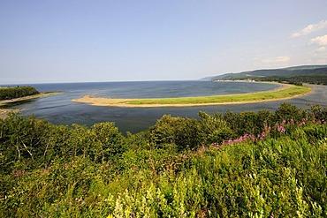 Cape St. Madeleine, Gaspesie or Gaspe Peninsula, Quebec, Canada