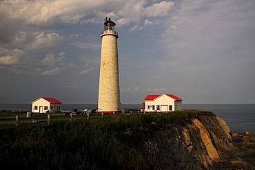 Cap des Rosiers, Canada's highest lighthouse, Gaspesie or Gaspe Peninsula, Quebec, Canada