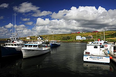 Margaree Harbour on the west coast of Cape Breton, Nova Scotia, Canada, North America