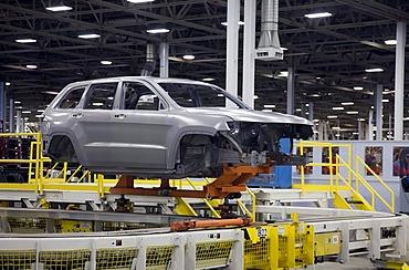 Chrysler's Jefferson North Assembly Plant, Detroit, Michigan, USA