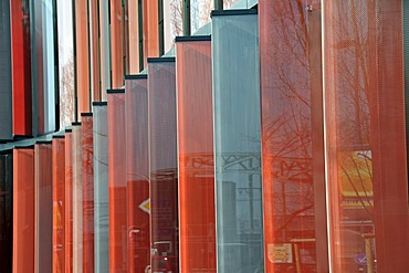 Facade, modern office building Cologne Oval Offices, Gustav-Heinemann-Ufer, Bayenthal district, Cologne, North Rhine-Westphalia, Germany, Europe