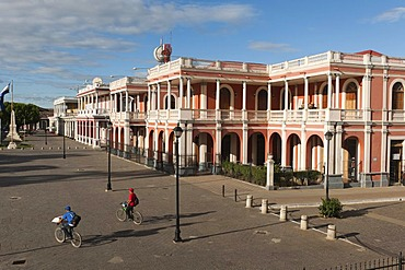 Episcopal Palace, magnificent colonial architecture, Granada, Nicaragua, Central America