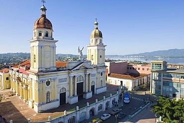 Cathedral Nuestra Senora de la Asuncion, seat of government of the province, Santiago de Cuba, Cuba