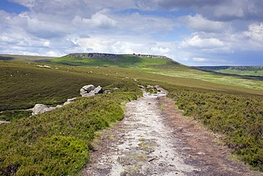 Hathersage Moor, Higger Tor, Derbyshire, England, United Kingdom, Europe