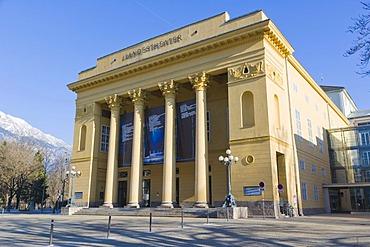 Landestheater, Tyrolean State Theatre, Innsbruck, Tyrol, Austria, Europe